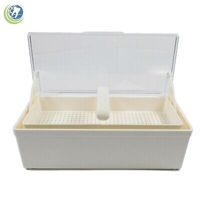 Germicide Tray Cold Sterilization Dental Medical Tattoo Instrument Case Cream