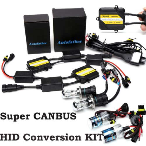 H7 H4 AC 55W CANBUS NO ERROR HID SLIM Ballast Hi//Lo Headlight H1 H3 H8 9005 9006