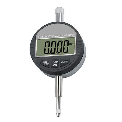 0-0.5 Dti Digital Dial Indicator Test Gauge 0.001mm 0.00005 Lcd Usa Sell