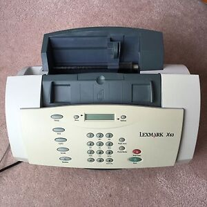 Lexmark X63 (solid) All-in-one with Fax printer