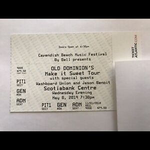 Old Dominion. One GA PIT ticket. Need gone $60