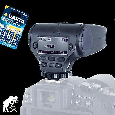 Bilora Voking VK360 Blitzgerät Flash für Olympus und Panasonic inkl. Batterien