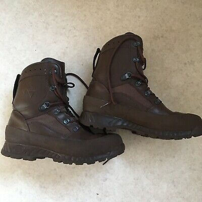 Genuine Issue Haix High Liability Size UK 9 Combat Goretex Hiking Boots Superb.