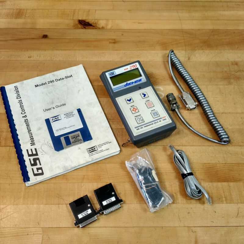 GSE 290 Data-Stat 020290-40000 Torque Tester - USED