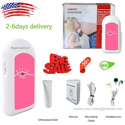 Pocket Baby Heart Fetal Doppler Prenatal Heart Monitor Beat Fetal Heart Rategel