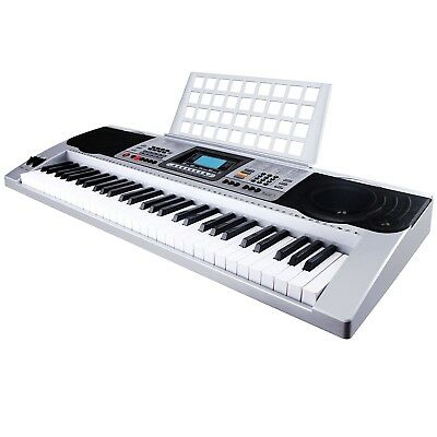 61 Key Music Electric Keyboard Touch Sensitive Electronic Digital Piano  Organ 91da21465b7c2