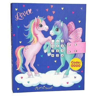 Pony Pegasus Minimoomis Passwort Tagebuch mit Geheimcode Sound Depesche 10228 ()