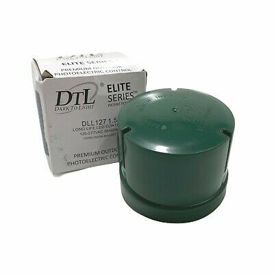 Dtl Elite Series Dll 127 1.5 Electronic Photoelectric Control Dark To Light