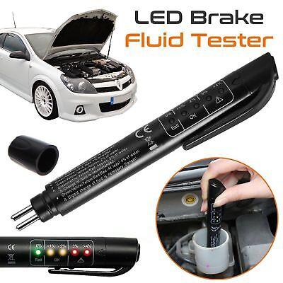 Brake Oil Fluid Tester 5 LED Moisture Liquid Tool Car Vehicle Test Indicator Pen