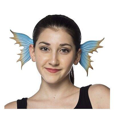 Adult Women's Mermaid Ears Seahorse Angel Fish Halloween Costume Headband Fins