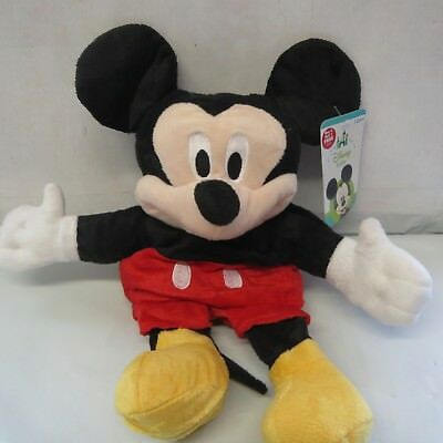 "Brand New-Disney Baby Mickey Mouse Plush Hand Puppet Full Size 14"" Soft Toy"