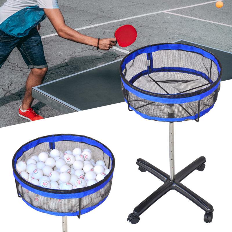 Ping Pong Ball Collector Golf Badminton Multi-Ball Storage Stand High Capacity
