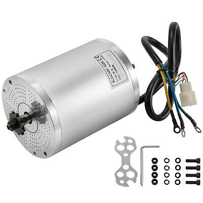 2000w 48v Dc Brushless Motor Electric Motor Quiet Operation 4300rpm For Scooter