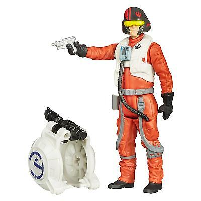 Star Wars The Force Awakens 3.75-Inch Figure Space Mission Poe Dameron