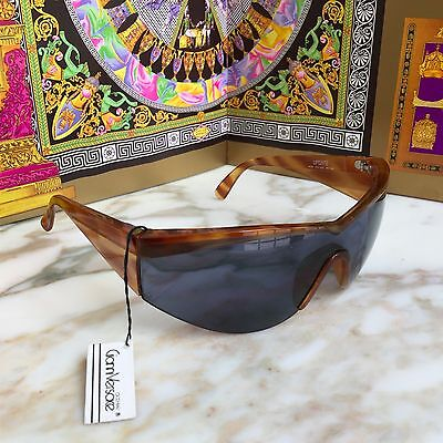 GIANNI VERSACE brown tortoise sunglasses UPDATE Mod. 674 Col. 863 BD