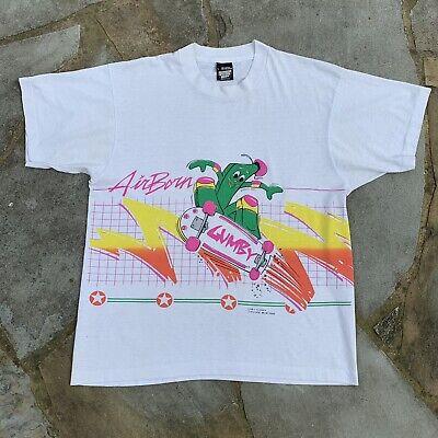 80s Tops, Shirts, T-shirts, Blouse   90s T-shirts Vintag 1980s Gumby Skateboarding Air Born 1980s Graphic Tshirt Size Mens L $69.99 AT vintagedancer.com