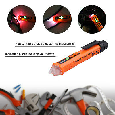 Non-contact Lcd Electric Ac Voltage Test Pen Digital Tester Detector 12-1000v
