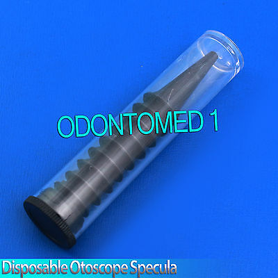 Disposable Otoscope Specula 10 With Tube 2.5mm 3.5mm
