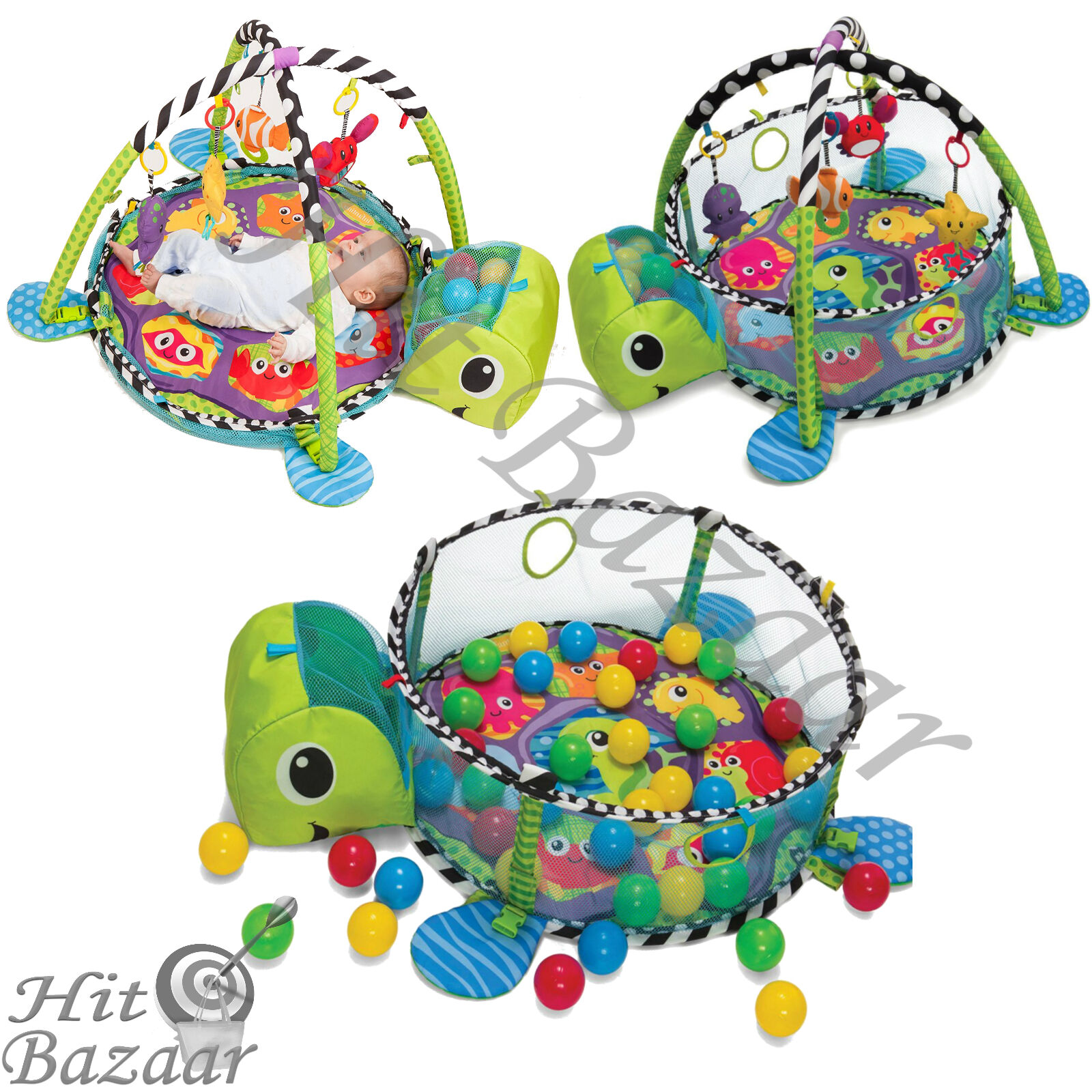 Activity Gym Game Center Play Mat Infant Toddler Toy Development
