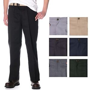 Ben-Davis-Original-Classic-50-50-Blend-Mens-Twill-Pants