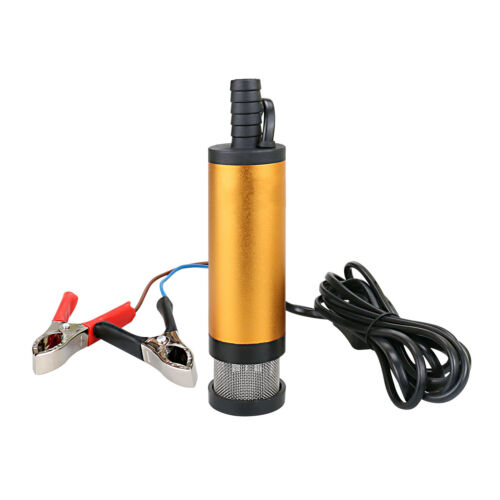 50mm 12V Tauchpumpe Pumpe Bootpumpe Transfer für KFZ Diesel Öl Transferpumpe