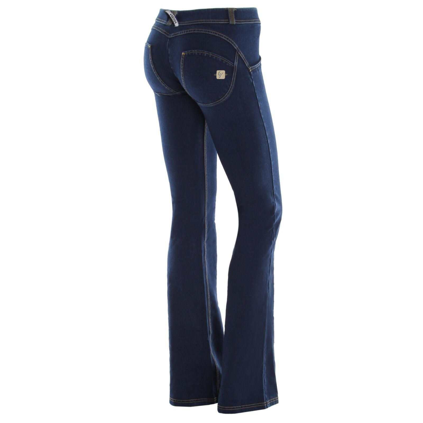 SCONTO 10% FREDDY WR.UP L XL JEANS ZAMPA PUSH UP WRUP11RJ01E FLARE VITA REGULAR