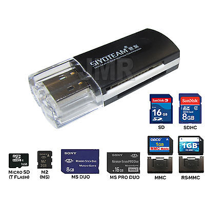 USB READER FOR SANDISK SONY M2 PRO DUO MEMORY STICK