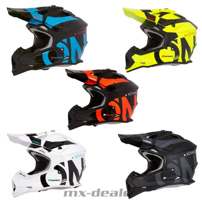 O /'Neal 2019 2 Series Slick JAUNE NEON Casque Crosshelm MX motocross cross enduro