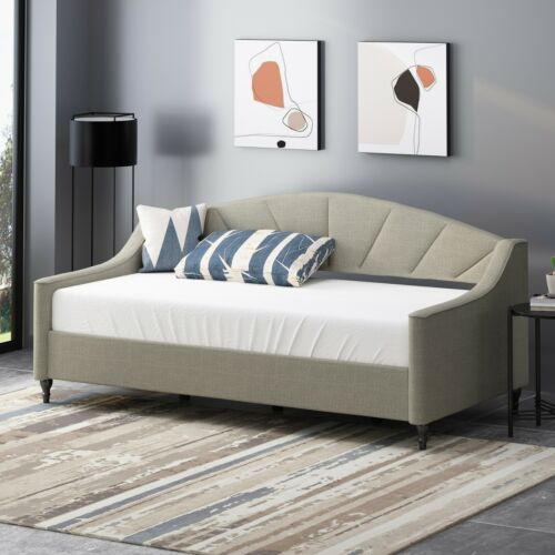 Jorryn Contemporary Tufted Upholstered Daybed Beds & Bed Frames