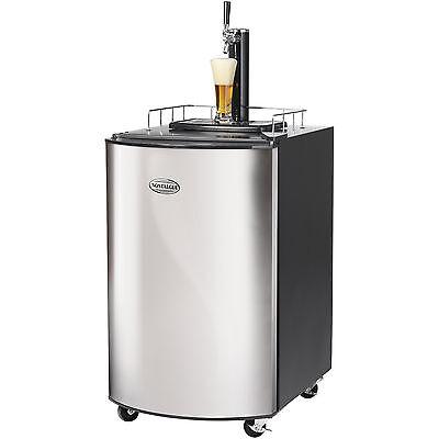 Stainless Steel Full Size Kegerator Home Brew Tap Beer Dispenser Refrigerator