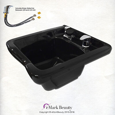 Shampoo Bowl ABS Plastic Salon Spa Hair Sink Beauty Salon Equip. TLC-B11 KSGT  for sale  Shipping to Canada
