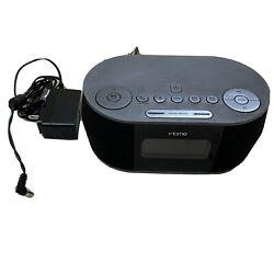 iHome iBT38 Wireless Bluetooth Stereo Dual FM Alarm Clock Radio USB Charging