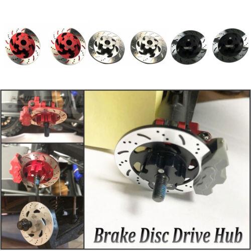 4PCS//Set Metal Brake Disc Caliper For 1//7 TRAXXAS Unlimited Desert Racer RC Car