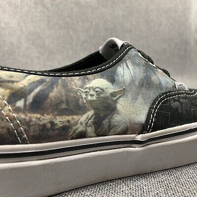 Star Wars Shoes Womens (Star Wars Vans Yoda Mens Size US 9.5 Womens US 11 Special Edition Shoes)