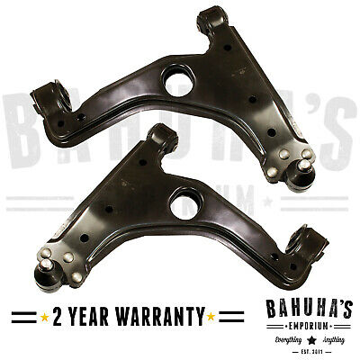 VAUXHALL ASTRA H MK5 2004-14 LOWER SUSPENSION ARMS X2 FRONT WISHBONES PAIR NEW!