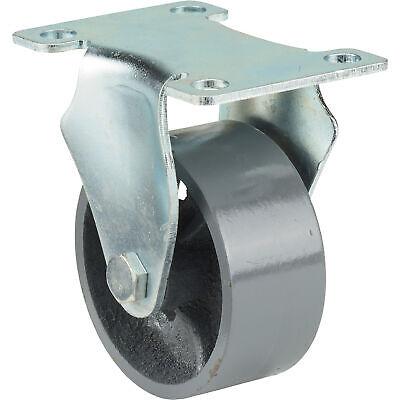 Ironton 3in. Rigid Steel Caster - 600-lb. Capacity