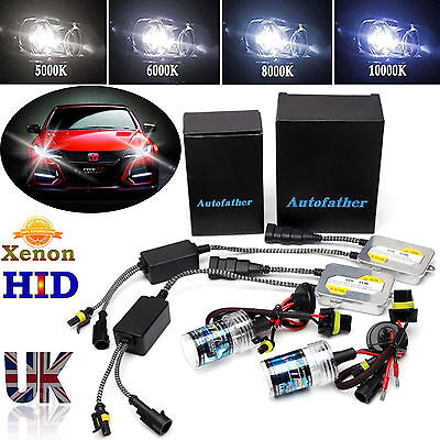 FOR HONDA CIVIC TYPE R S FACELIFT EP3 HID XENON H1 HEADLIGHTS KIT ALL COLORS 55W