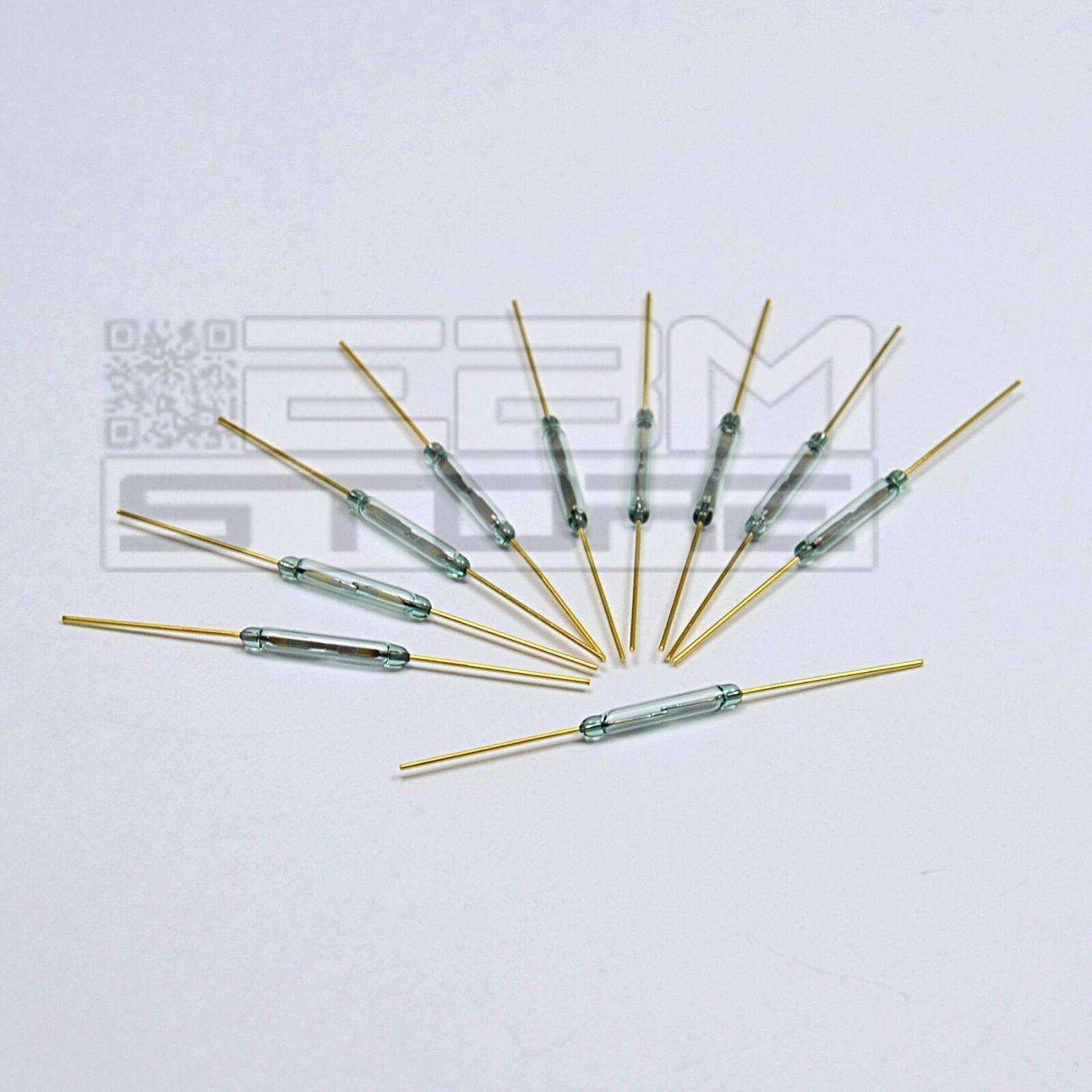 10 pz. Relè reed ad ampolla contatto magnetico effetto hall arduino - ART. CE21