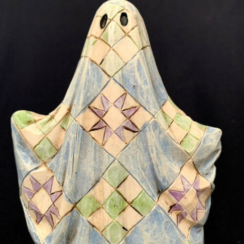 Jim Shore Heartwood Creek Boo Halloween Ghost Boo #4005341 Retired 2006