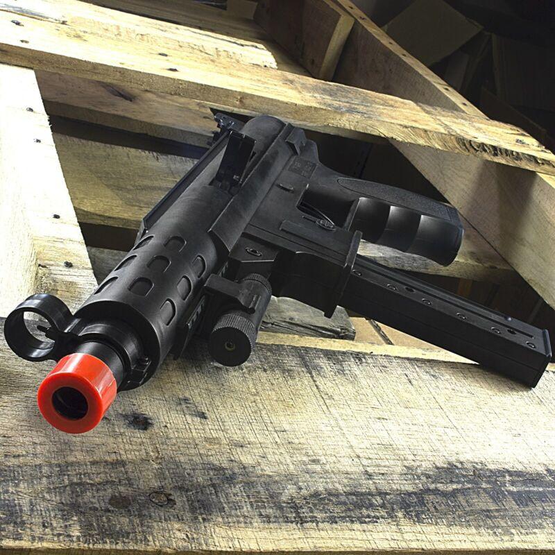 TEC-9 SPRING AIRSOFT TACTICAL SMG RIFLE GUN w/ LASER SIGHT 6mm BB BBs