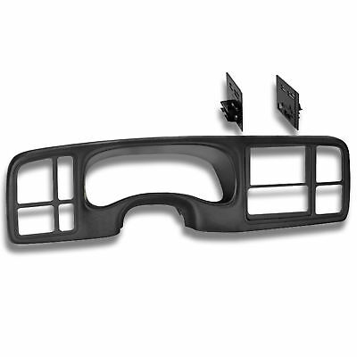 Car Radio Stereo Double DIN Dash Kit for 1999-02 GM Full-size Trucks and - Gm Cars And Trucks
