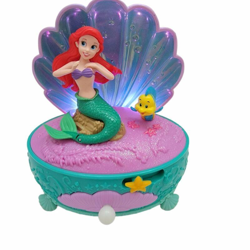 Disney Princess Ariel The Little Mermaid Shell Musical Animated Night Light