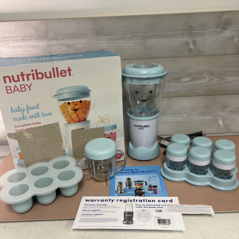 Nutribullet Baby Blender Bb-WL066-23 Open Box