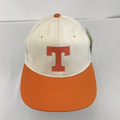 Tennessee Volunteers Hat (UT Tennessee Volunteers Snapback Hat NWT VTG Annco Orange)