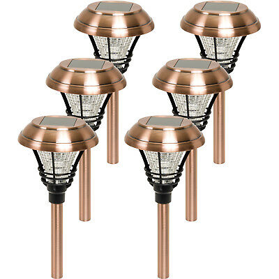 Westinghouse New Kenbury Solar Garden 10 Lumens Led Stake Path Lights  6 Pack
