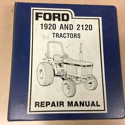 Ford New Holland 1920 2120 Tractor Service Shop Repair Manual Guide 40192020