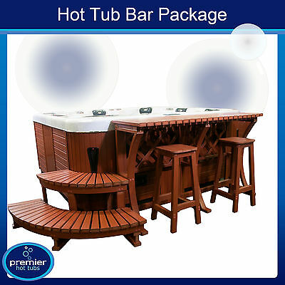 LUXURY HOT TUB BAR PACKAGE WHIRLPOOL