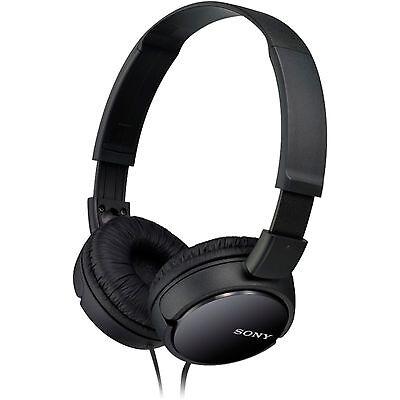 Sony MDR-ZX110B HEAD ON, Kopfhörer, schwarz Kopfhörer Sony