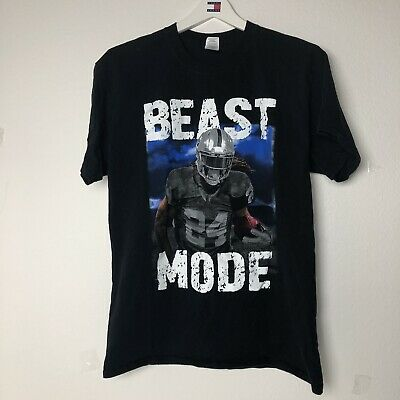 "Tie-Dye Marshawn Lynch Oakland Raiders /""BEAST MODE/"" jersey T-Shirt  Shirt"