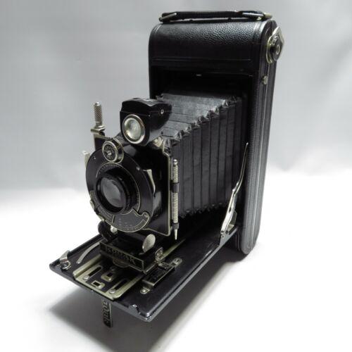 Vtg Kodak 3 Series III Autographic Folding Camera Anastigmat Lens Untested AS IS